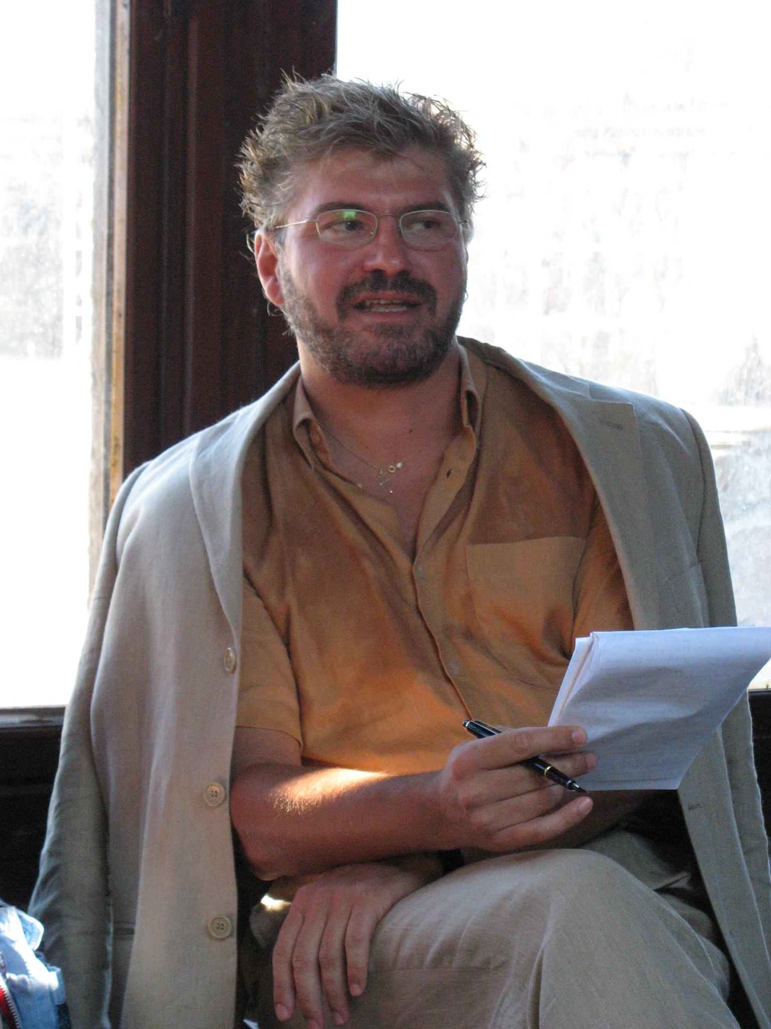 Димитър Камбуров откри семинара със своето изложение