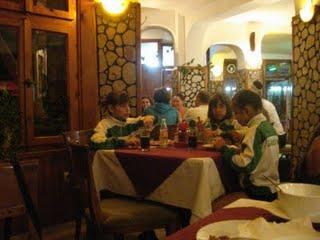 Детският отбор по батут на Габрово. Снимка: Авторът