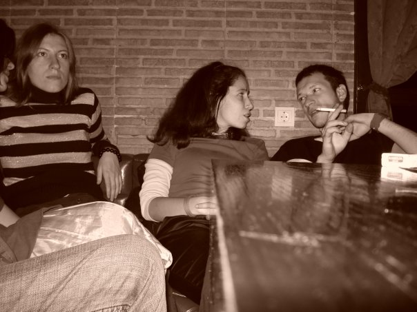 Мария Калинова, Камелия Спасова и Емил Христов от ``Устата``. Снимка: Яница Радева. Всички права запазени!